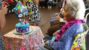 BACS Participant Turns 100 Years Old!