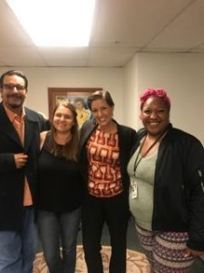 Mayor Schaaf Connects with Our Formerly Homeless Community